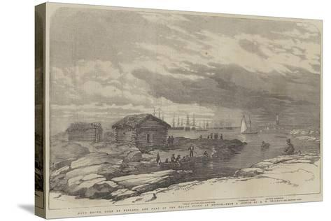 Baro Sound in the Gulf of Finland-Oswald Walters Brierly-Stretched Canvas Print