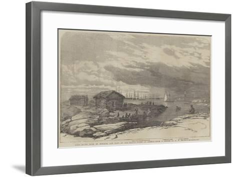 Baro Sound in the Gulf of Finland-Oswald Walters Brierly-Framed Art Print
