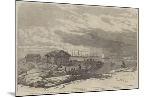 Baro Sound in the Gulf of Finland-Oswald Walters Brierly-Mounted Giclee Print