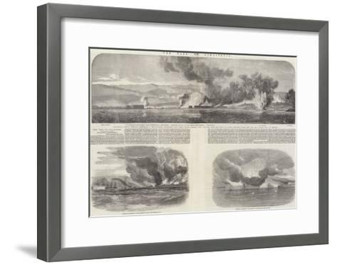 The Fall of Sebastopol-Oswald Walters Brierly-Framed Art Print