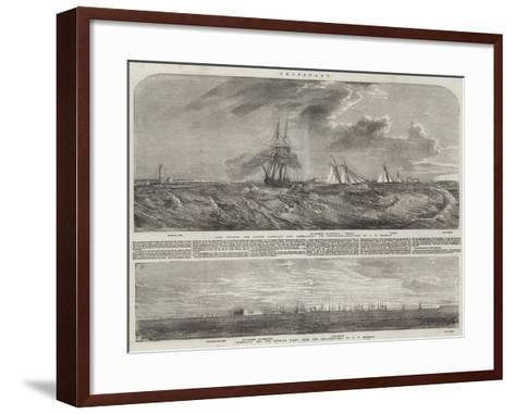 Cronstadt-Oswald Walters Brierly-Framed Art Print