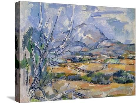 Montagne Sainte-Victoire, 1890-95-Paul C?zanne-Stretched Canvas Print