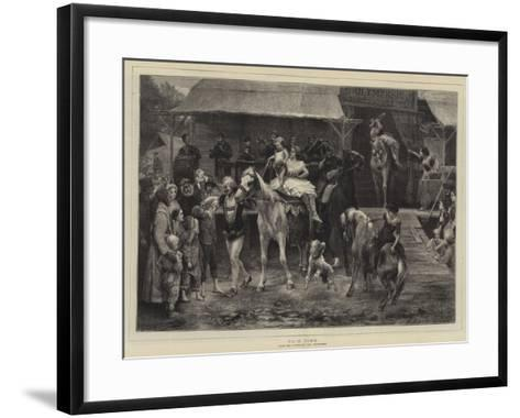 Fair Time-Paul Friedrich Meyerheim-Framed Art Print