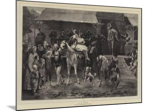 Fair Time-Paul Friedrich Meyerheim-Mounted Giclee Print