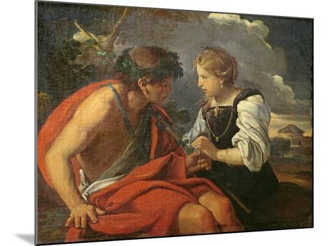 Bacchus and Ariadne-Pier Francesco Mola-Mounted Giclee Print