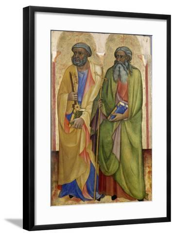 Apostles Peter and Andrew ,C.1418-20-Piero Di Alvaro-Framed Art Print