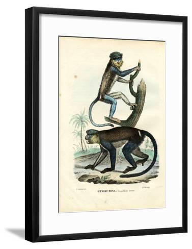 Mona Monkey, 1863-79-Raimundo Petraroja-Framed Art Print