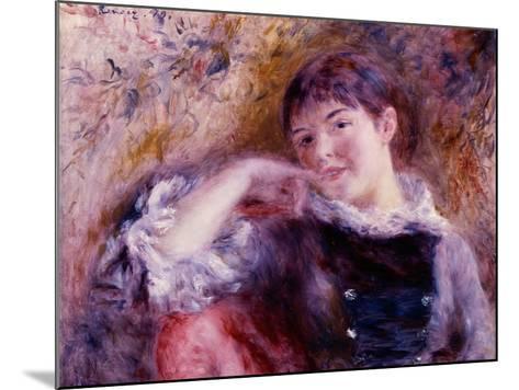 The Dreamer, 1879-Pierre-Auguste Renoir-Mounted Giclee Print