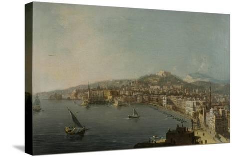 Naples-Pietro Antoniani-Stretched Canvas Print