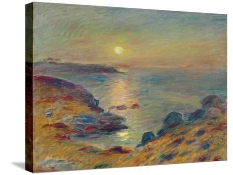 Sunset at Douarnenez, C. 1883-Pierre-Auguste Renoir-Stretched Canvas Print