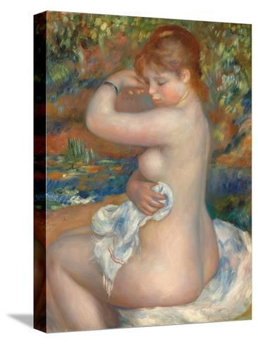 Bather; Baigneuse, 1888-Pierre-Auguste Renoir-Stretched Canvas Print