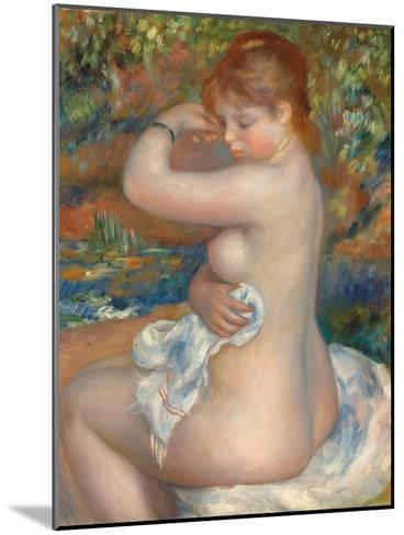 Bather; Baigneuse, 1888-Pierre-Auguste Renoir-Mounted Giclee Print