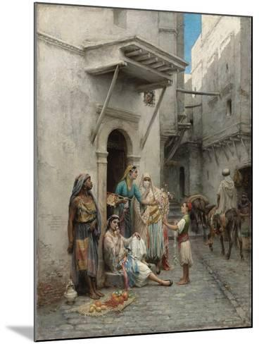 The Young Flower Seller; Le Jeune Marchand De Fleurs-Pierre Outin-Mounted Giclee Print