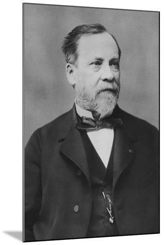 Portrait of Louis Pasteur-Pierre Petit-Mounted Photographic Print