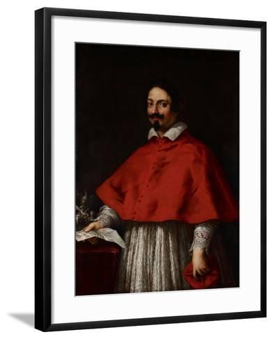 Portrait of Cardinal Pietro Maria Borghese, C.1633-35-Pietro da Cortona-Framed Art Print