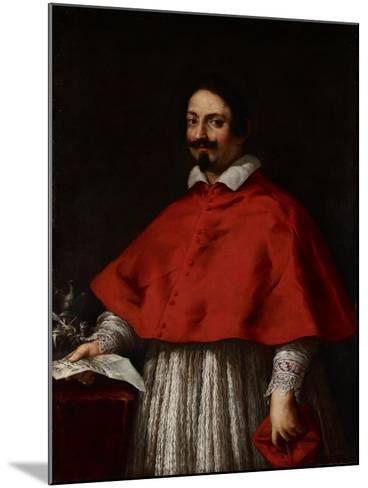 Portrait of Cardinal Pietro Maria Borghese, C.1633-35-Pietro da Cortona-Mounted Giclee Print