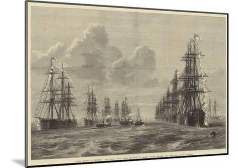 Naval Review at Spithead-R. Dudley-Mounted Giclee Print