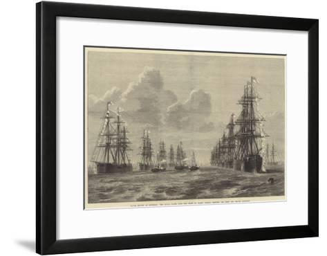 Naval Review at Spithead-R. Dudley-Framed Art Print
