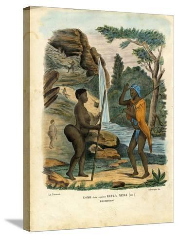 Hottentots, 1863-79-Raimundo Petraroja-Stretched Canvas Print