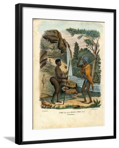 Hottentots, 1863-79-Raimundo Petraroja-Framed Art Print