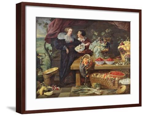 The Fruit Seller-Pierre Boucle-Framed Art Print