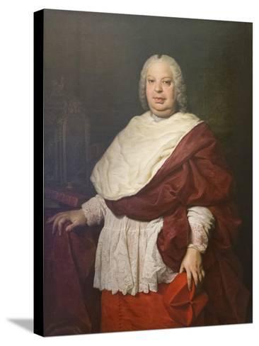 Portrait of Cardinal Silvio Valenti Gonzaga, C.1745-Pierre Subleyras-Stretched Canvas Print