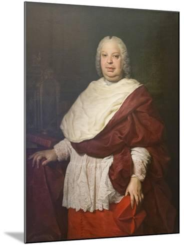 Portrait of Cardinal Silvio Valenti Gonzaga, C.1745-Pierre Subleyras-Mounted Giclee Print