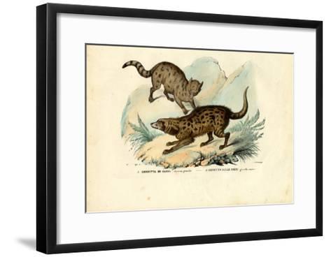 Genet, 1863-79-Raimundo Petraroja-Framed Art Print