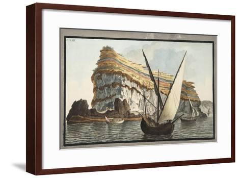 View from the Sea of the Promontory-Pietro Fabris-Framed Art Print