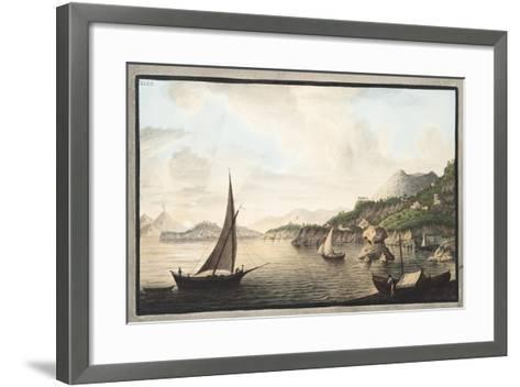 View of a Part of the Island of Ischia Called Lacco-Pietro Fabris-Framed Art Print