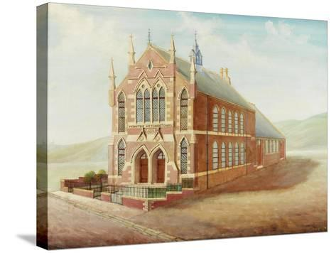 Moor Street Primitive Methodist Church-R.M. Hall-Stretched Canvas Print