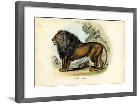 Lion, 1863-79-Raimundo Petraroja-Framed Art Print