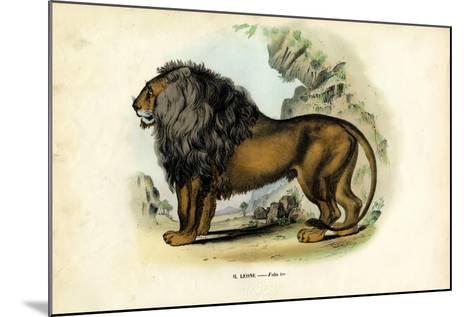 Lion, 1863-79-Raimundo Petraroja-Mounted Giclee Print
