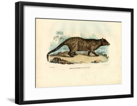 Pardine Genet, 1863-79-Raimundo Petraroja-Framed Art Print