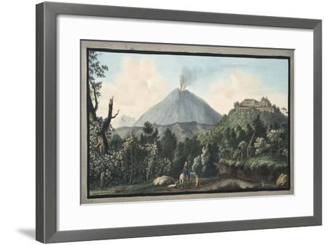 View of the Monte S. Angelo on Which There Is a Convent of Camaldolefi Monks-Pietro Fabris-Framed Art Print
