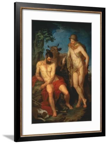 Mercury and Argus, 1776-Piotr Ivanovich Sokolov-Framed Art Print