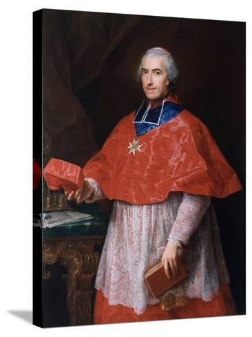 Portrait of Jean-François-Joseph Rochechouart, 1762-Pompeo Girolamo Batoni-Stretched Canvas Print