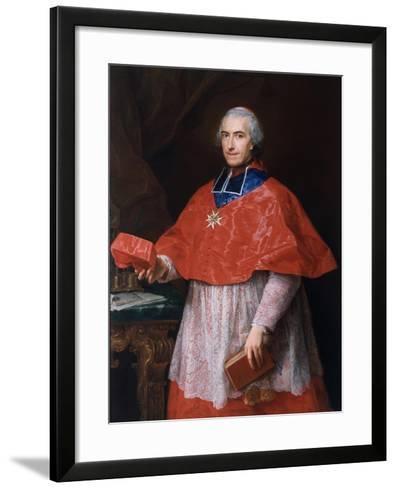 Portrait of Jean-François-Joseph Rochechouart, 1762-Pompeo Girolamo Batoni-Framed Art Print