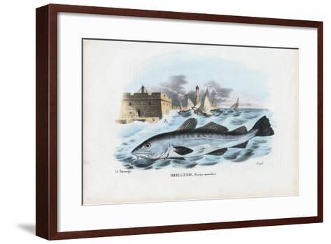 Atlantic Cod, 1863-79-Raimundo Petraroja-Framed Art Print