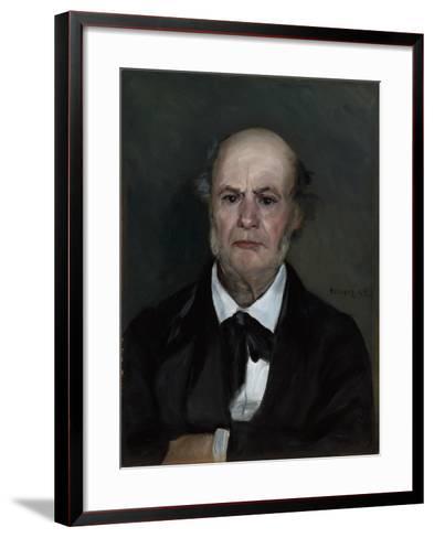 Léonard Renoir, the Artist's Father, 1869-Pierre-Auguste Renoir-Framed Art Print