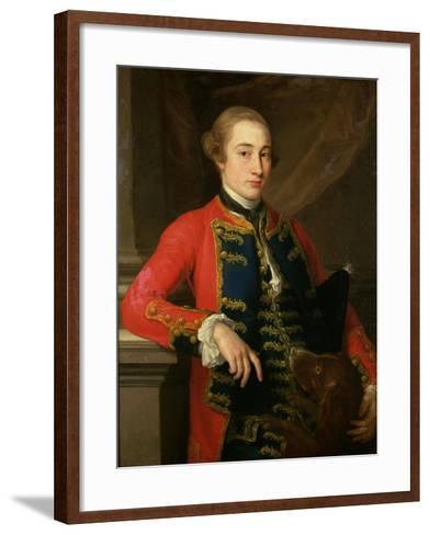 10th Earl of Pembroke (1734-94)-Pompeo Girolamo Batoni-Framed Art Print