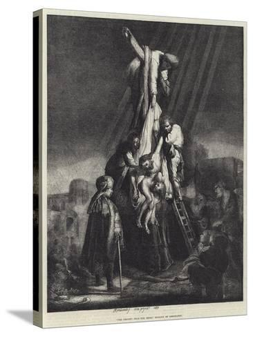 The Descent from the Cross-Rembrandt van Rijn-Stretched Canvas Print