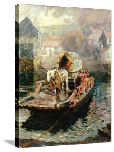 Hylton Ferry, 1910-Ralph Hedley-Stretched Canvas Print