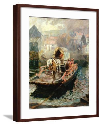 Hylton Ferry, 1910-Ralph Hedley-Framed Art Print