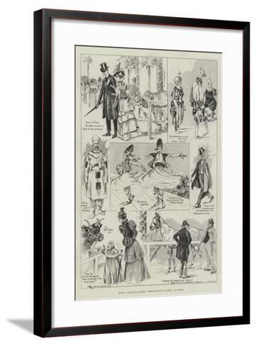 Messers Barnum and Bailey's Greatest Show on Earth at Olympia-Ralph Cleaver-Framed Art Print
