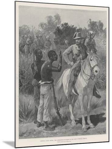 General Louis Botha, the Commander-In-Chief of the Boer Guerilla Forces-Richard Caton Woodville II-Mounted Giclee Print