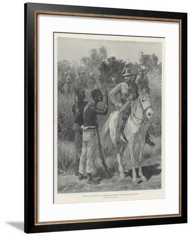 General Louis Botha, the Commander-In-Chief of the Boer Guerilla Forces-Richard Caton Woodville II-Framed Art Print