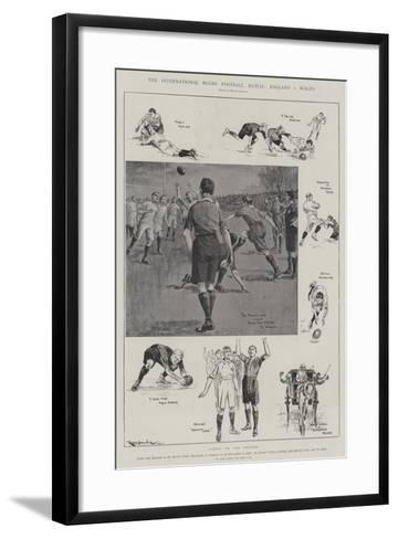 The International Rugby Football Match, England V Wales-Ralph Cleaver-Framed Art Print
