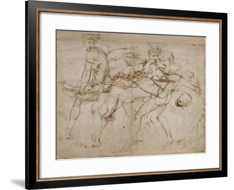 The Death of Adonis-Raphael-Framed Art Print