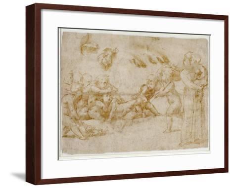 Amorini at Play-Raphael-Framed Art Print